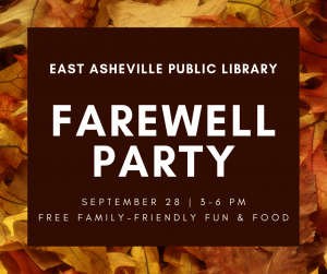 library farewell party