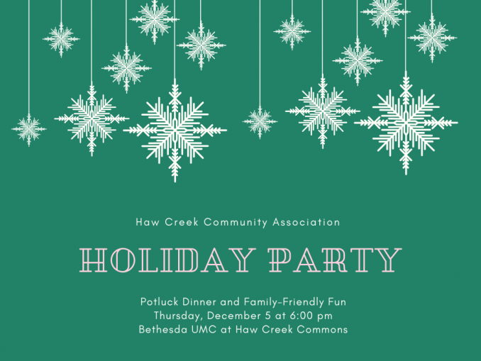 HCCA Holiday Party